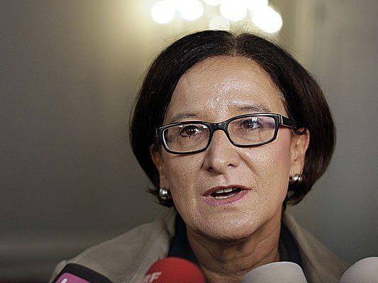 Innenministerin Mikl-Leitner forderte strenge Ausreisebedingungen