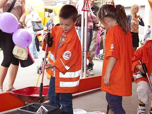Kinder lieben das jährlich stattfindende Mistfest