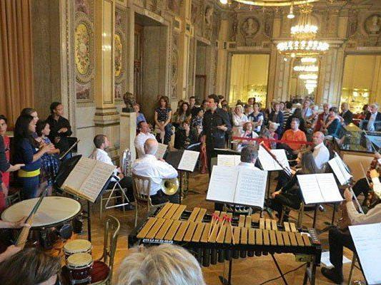 Beim Tag der offenen Tür in der Wiener Staatsoper