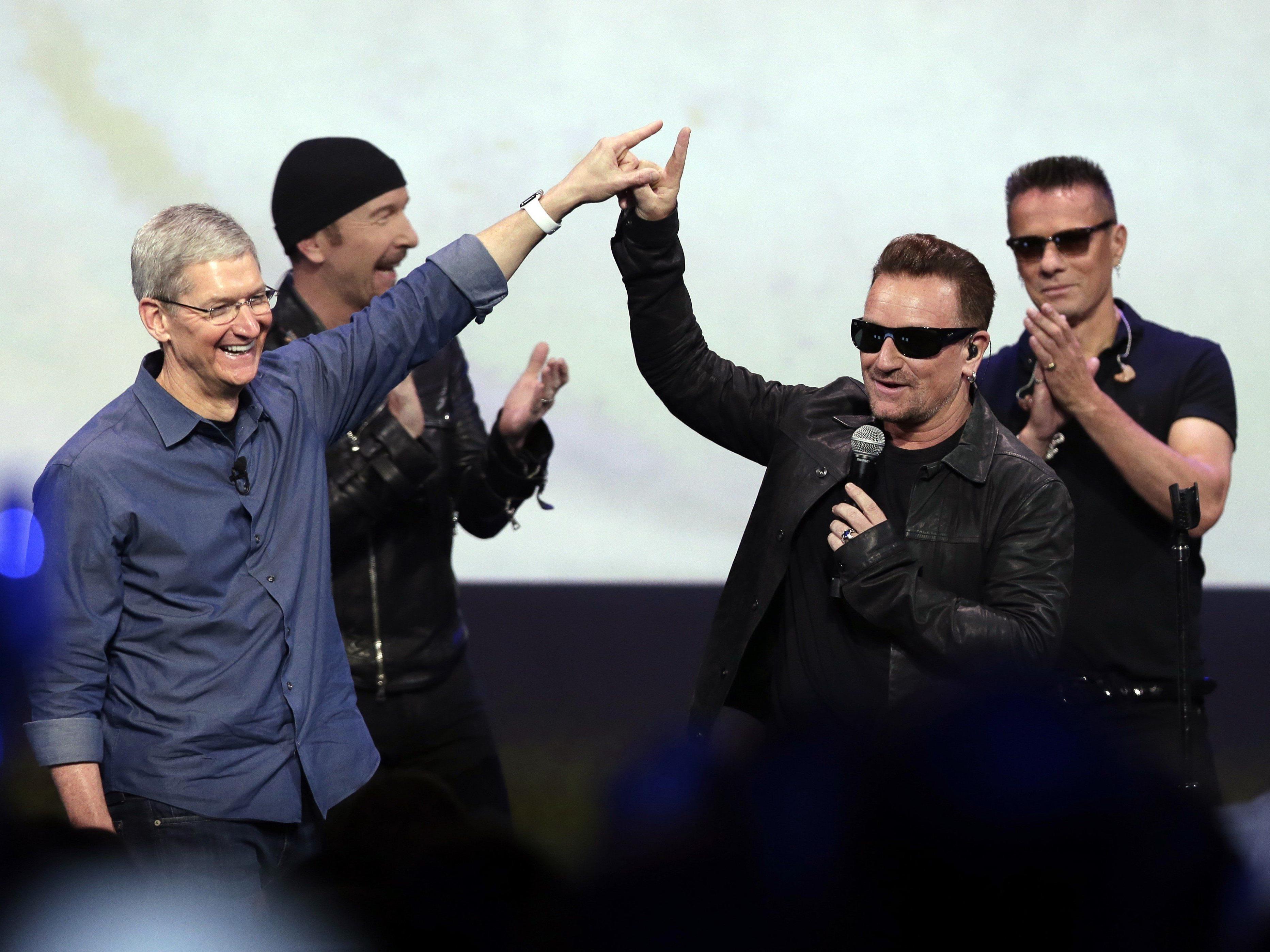 Ungefragter U2-Download in Mediathek sorgte für heftige Kritik.
