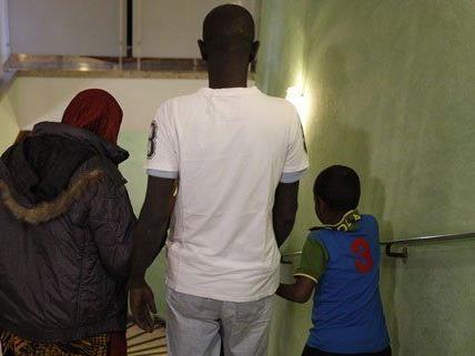 In Wien entsteht ein temporäres Asyllager.