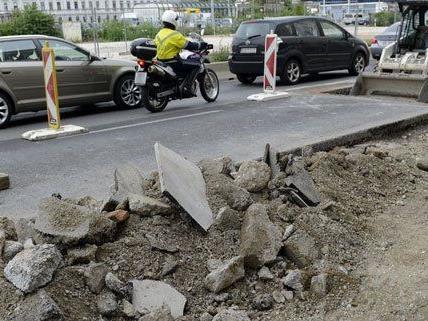 In Wien haben im Sommer zahlreiche Baustellen für Ärger gesorgt.