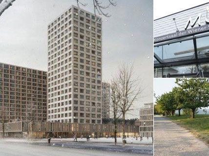 In Wien gibt es einige umstrittene Bauprojekte.