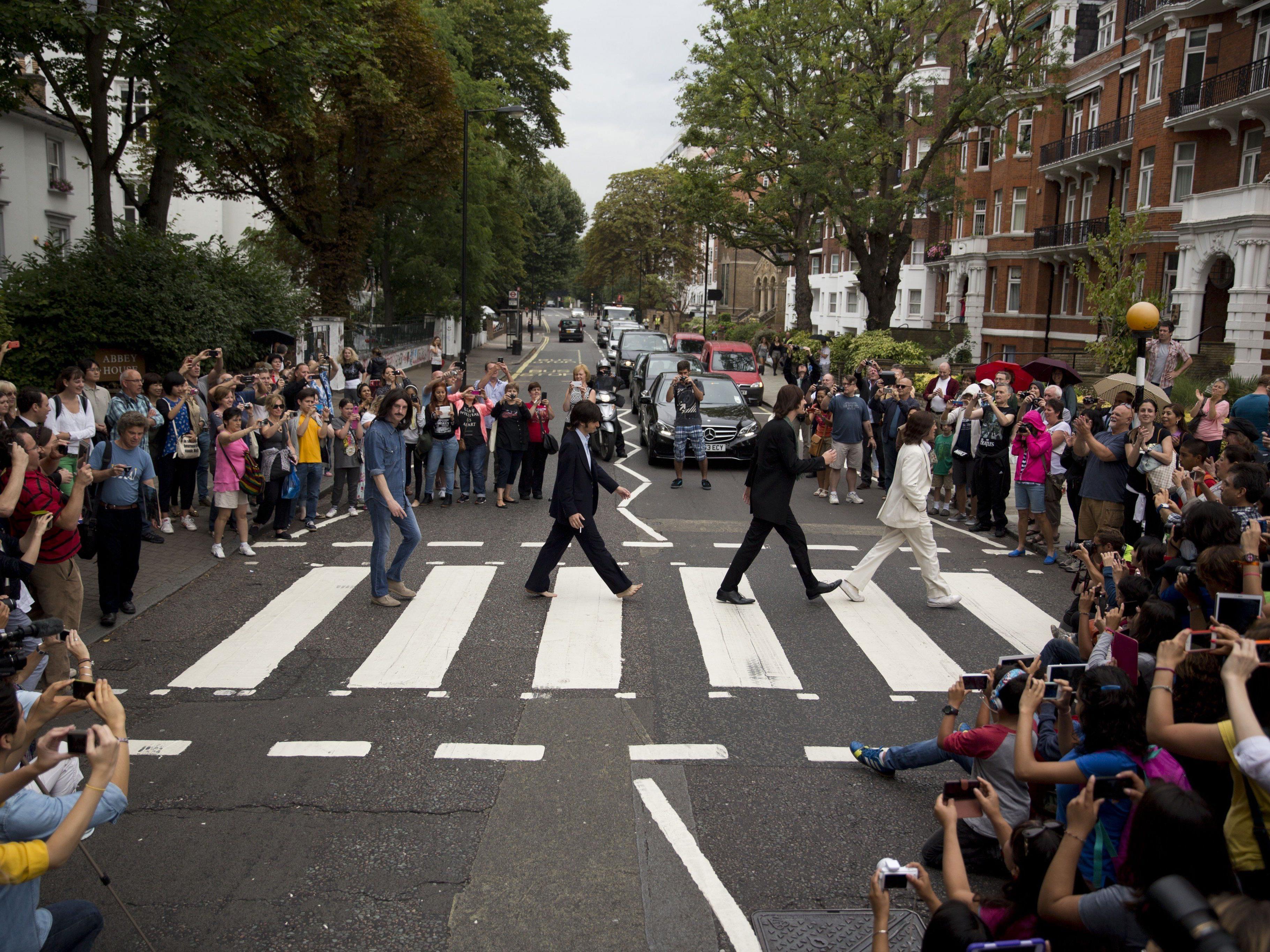 Der Fankult legt öfters den Londoner Verkehr lahm.