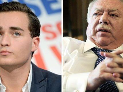 Häupl hat sich gegen den umstritteten Kandidaten Krauss (l.) entschieden