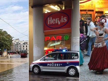 Zahlreiche Leserreporter haben im September Fotos an VIENNA.at geschickt.