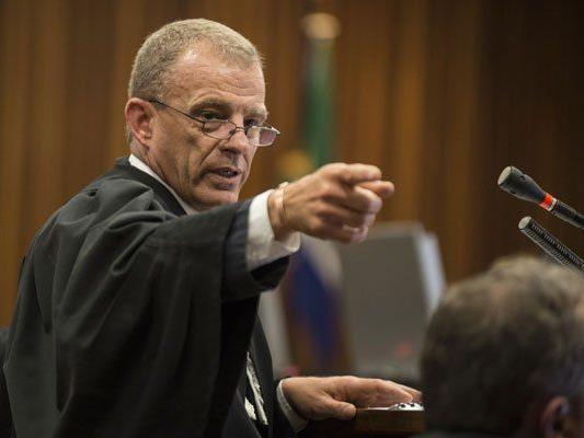 Gerrie Nel - Staatsanwalt im Pistorius-Prozess