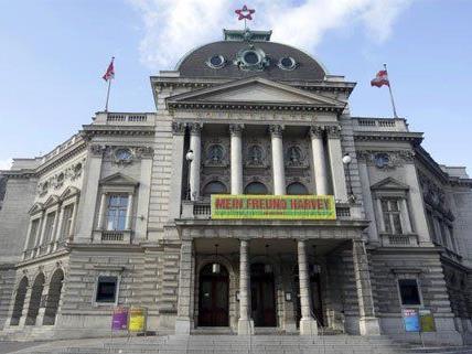 Tag der offenen Tür im Wiener Volkstheater.