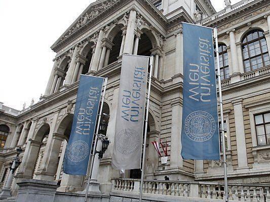 Leicht verbesser im QR-Ranking: die Uni Wien