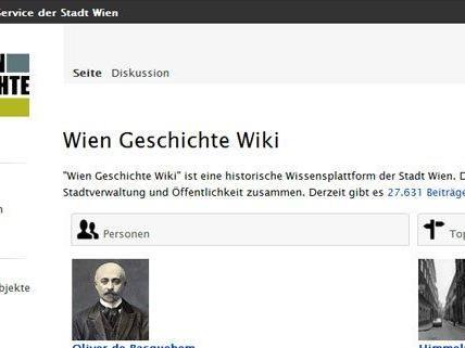 Wien hat ein neues Online-Lexikon.