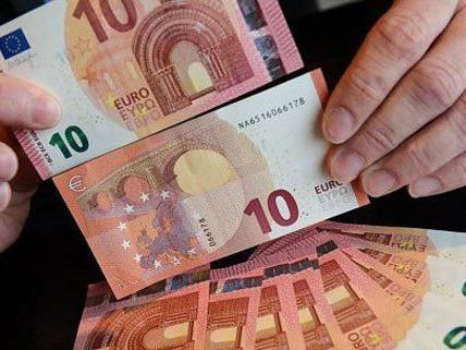 So sieht der neue Zehn-Euro-Schein aus.