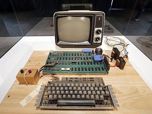 Gibt es nun auch im Ford-Museum: Apple-1