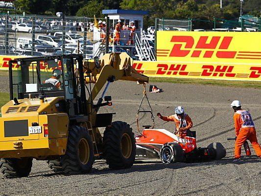 Bianchis Marussia-Wrack nach Horror-Crash