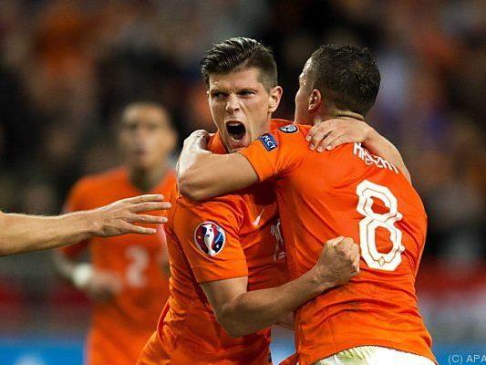 """Später Sieg von """"Oranje"""" gegen Kasachstan"""
