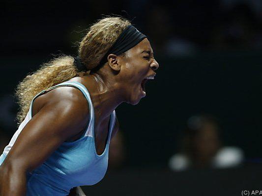 Serena Williams zurück zu alter Stärke