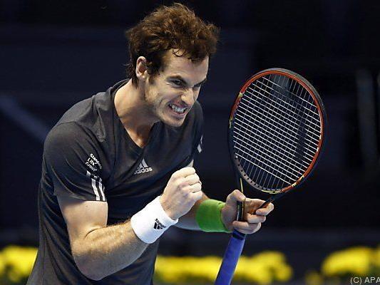 Andy Murray rang David Ferrer erneut nieder