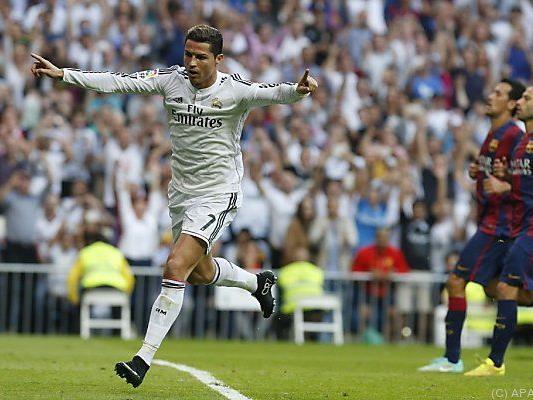 Real Madrid traf per Elfmeter zum 1:1