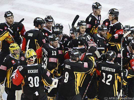 Vienna Capitals drehten Spiel gegen Linz