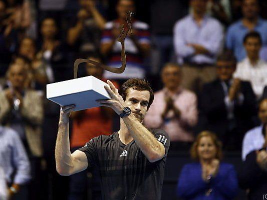 Dritter Titel auf ATP-Tour für Schotten