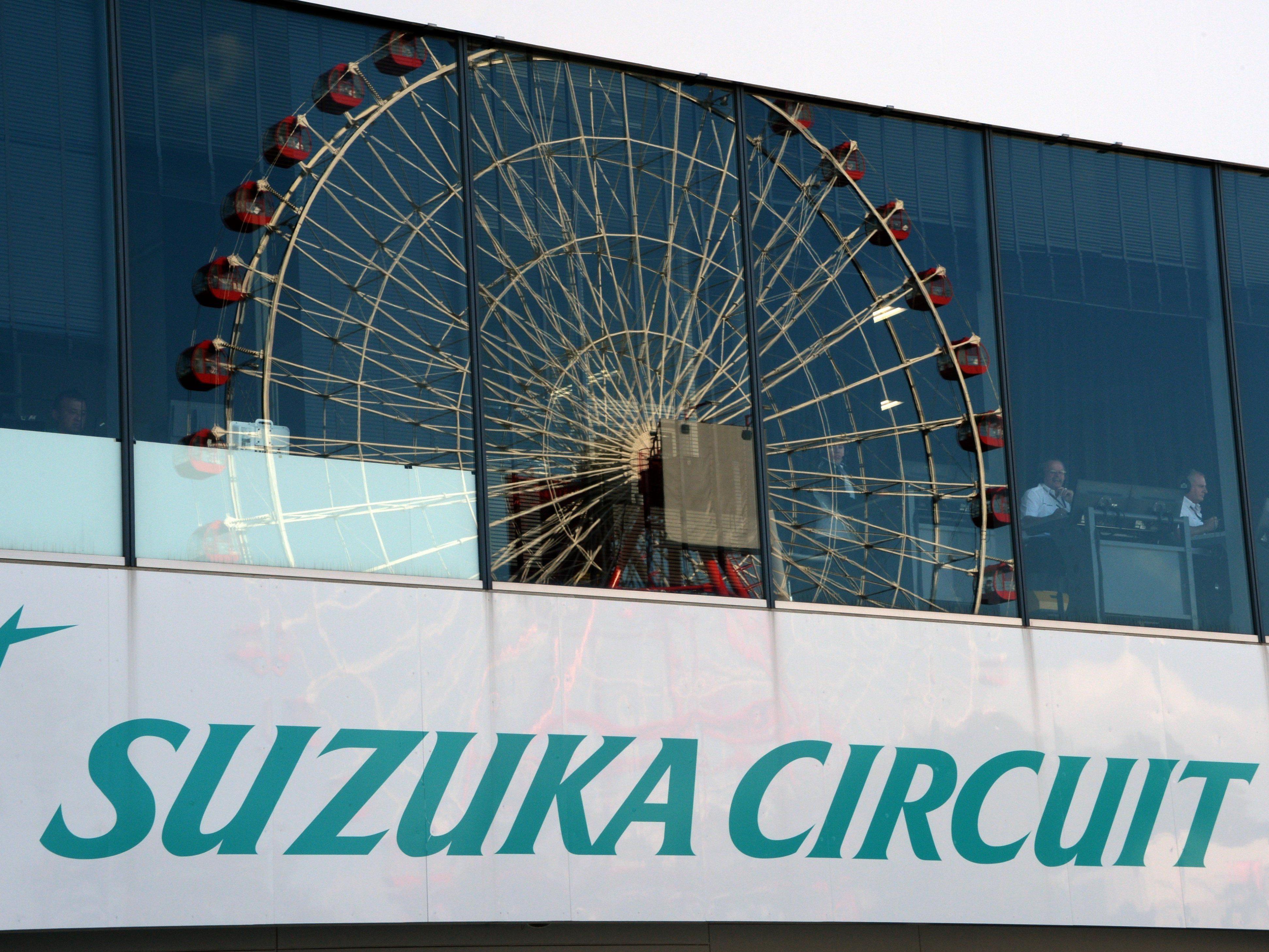 """Starker Regen am Sonntag in Suzuka befürchtet - UBIMET meldet """"potenzielle Gefährdung""""."""