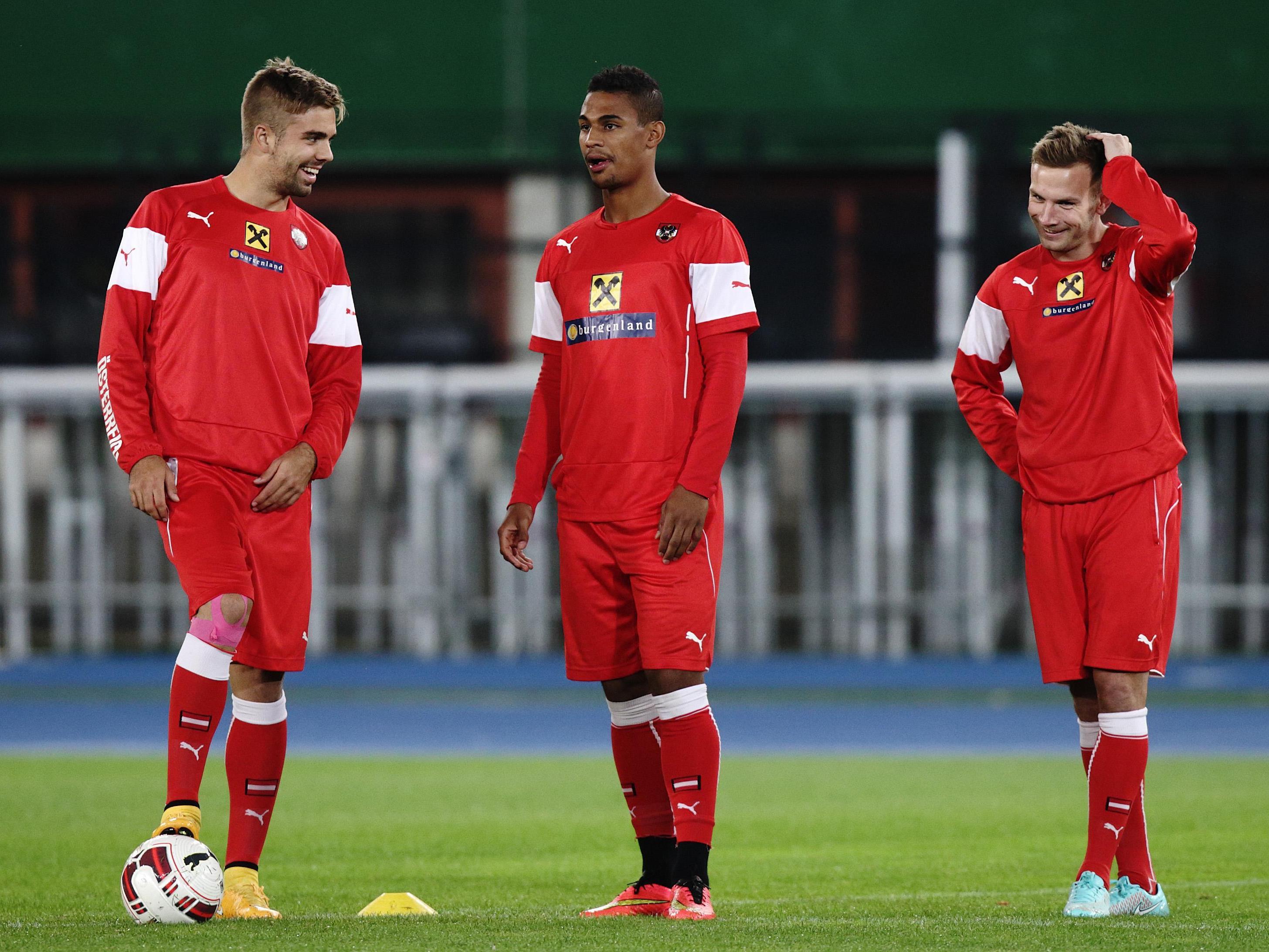 Wer stürmt für das Nationalteam? Hinterseer, Okotie oder Weimann?