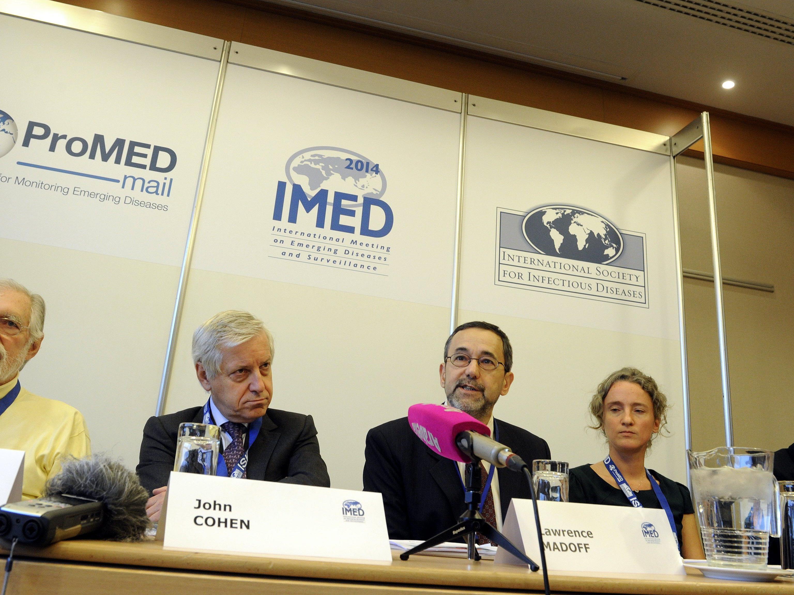 Ebola - Konferenz in Wien