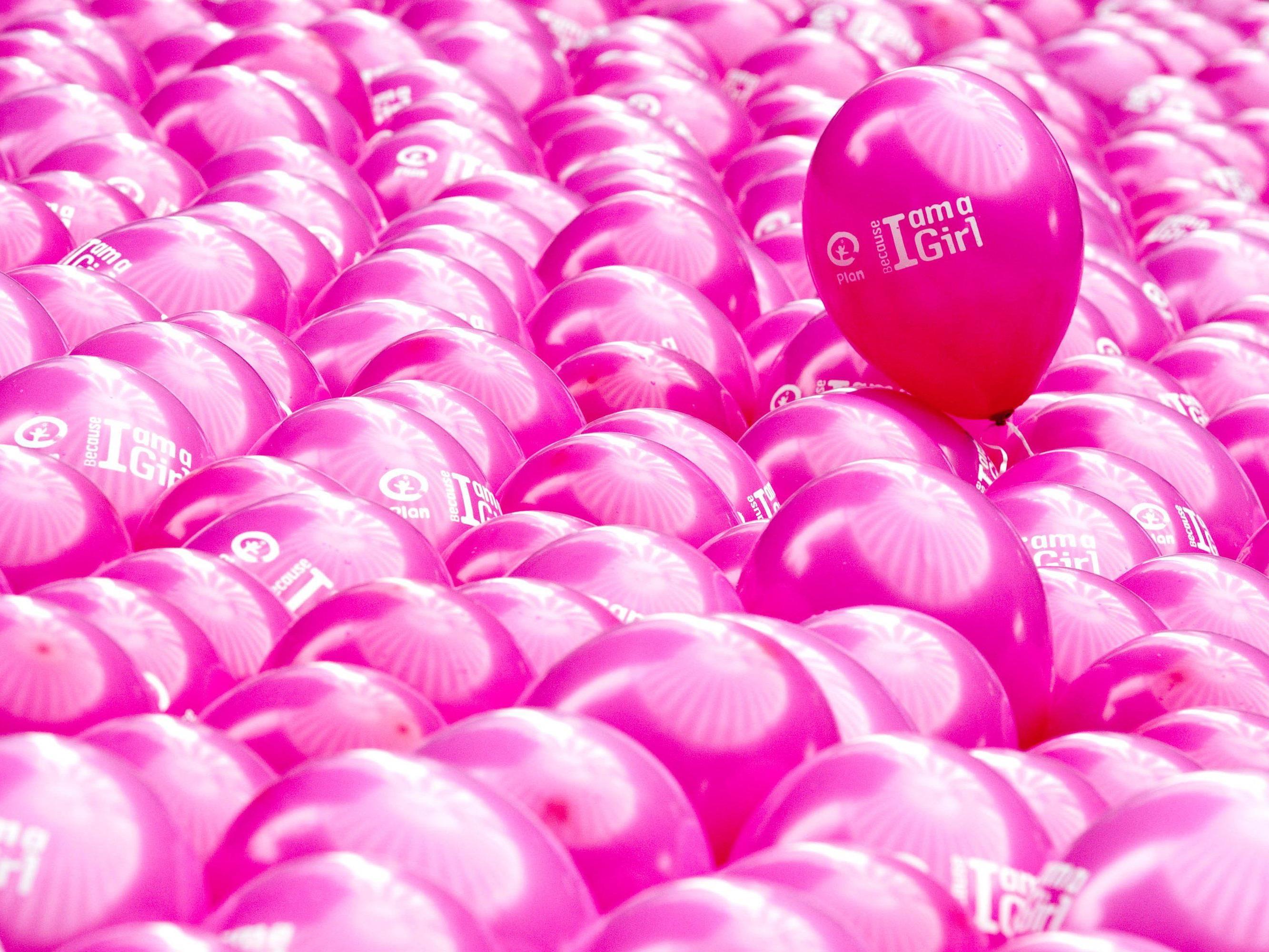 Weltmädchentag färbt Wien erstmals pink