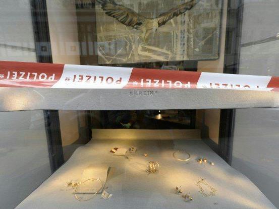 Juwelierüberfall in Wiener Innenstadt - Korpulenter Räuber gesucht