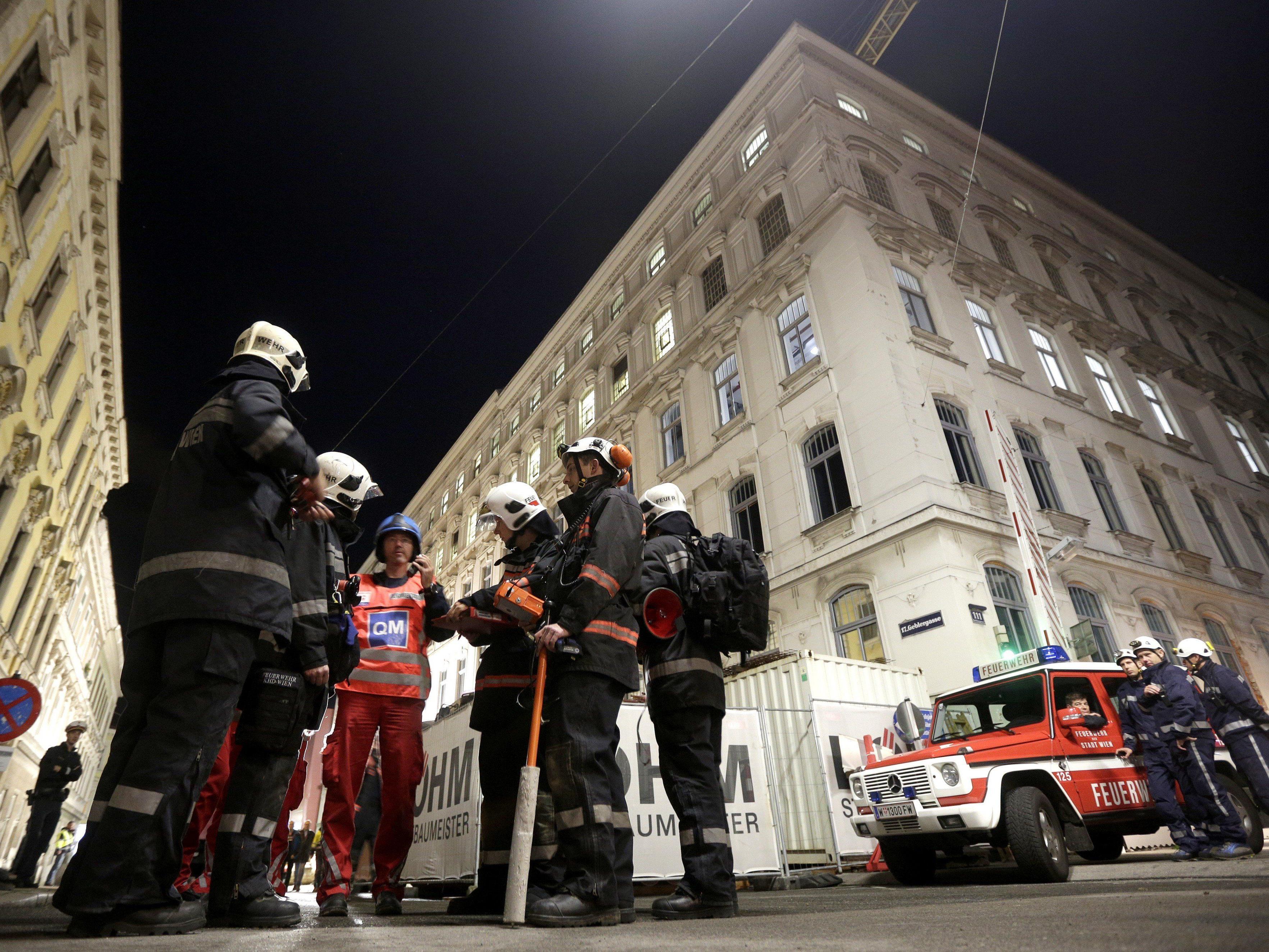 Am Freitag stürzte ein Teil der Manner-Fabrik in Wien-Ottakring ein