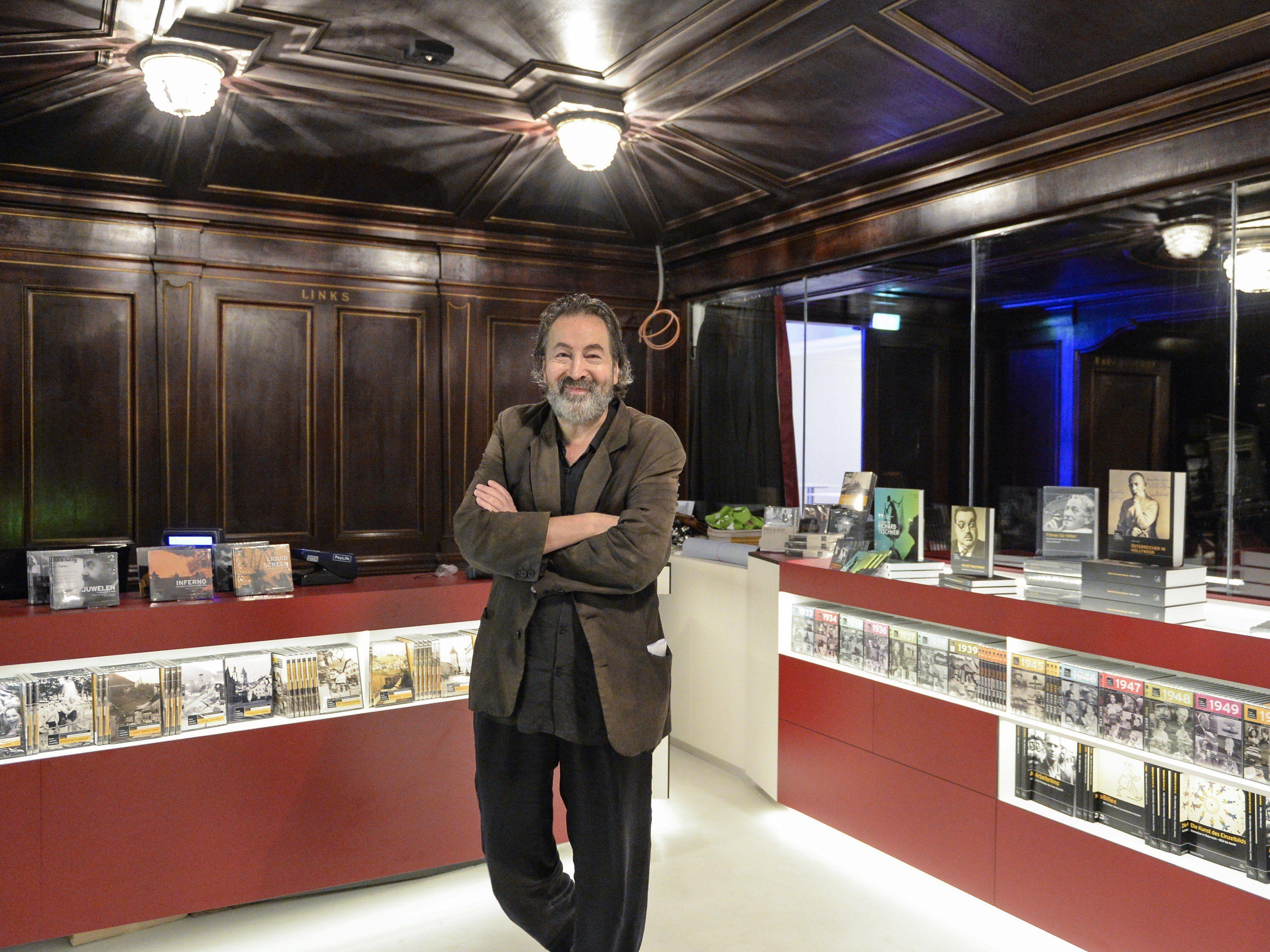 Viennale-DIrektor Hans Hurch hofft auf ein positives Feedback zum Festival