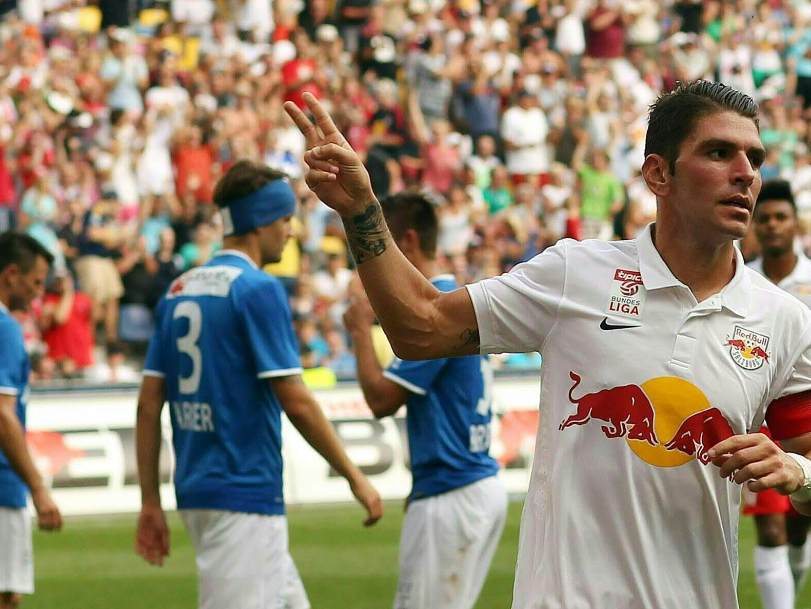 LIVE-Ticker zum Spiel SV Grödig gegen Red Bull Salzburg ab 16.30 Uhr.