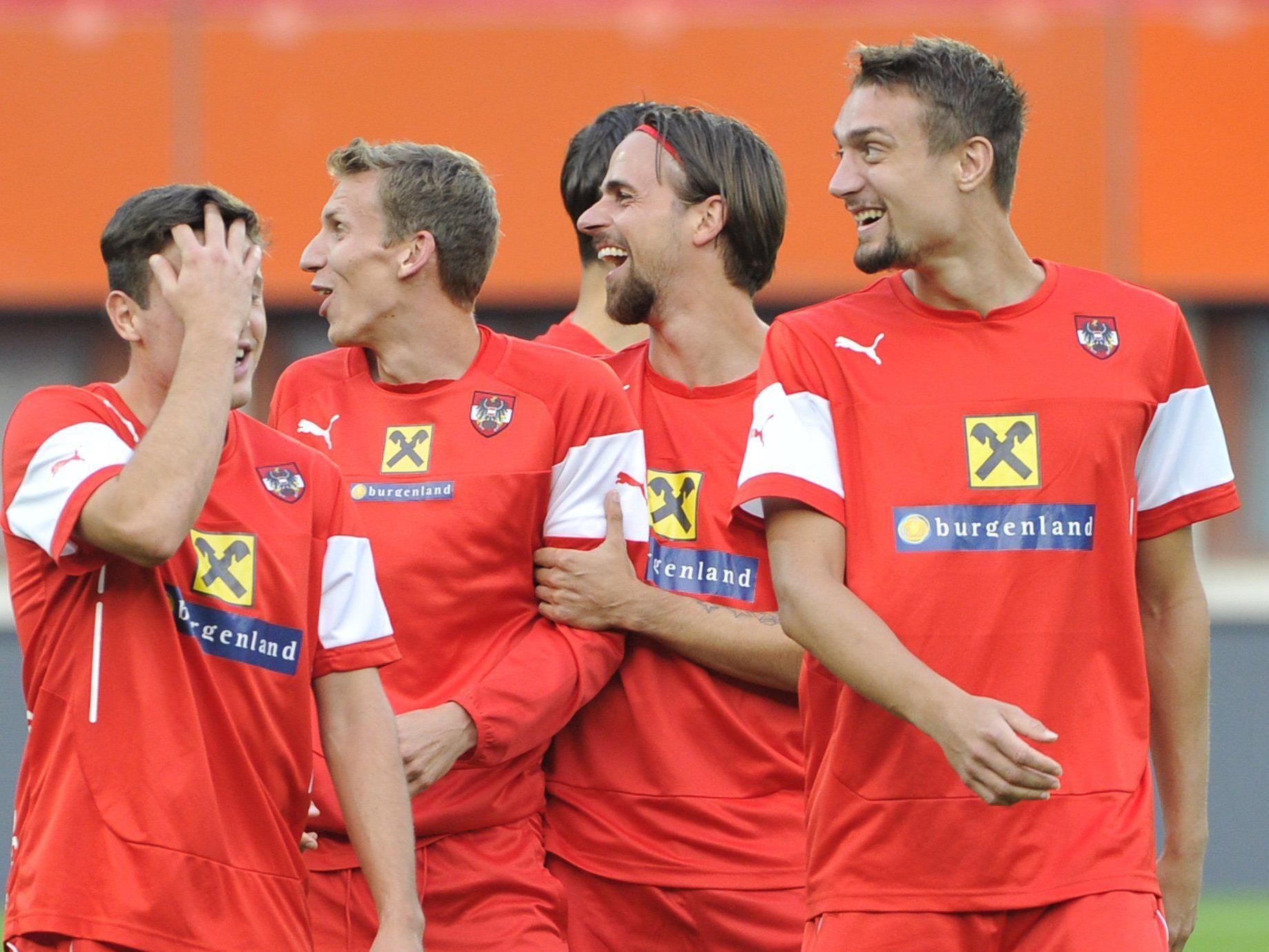 Am 18. November spielt das österreichische Nationalteam gegen Brasilien.