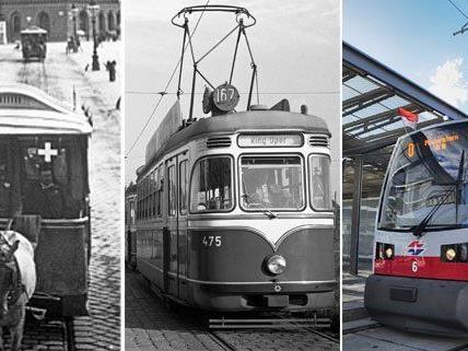 Wiens Straßenbahnen blicken auf eine bewegte Geschichte zurück, die mit der Pferdetramway begann