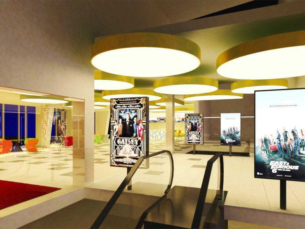 Das Cineplexx-Kino im Auhof Center wird komplett umgebaut.