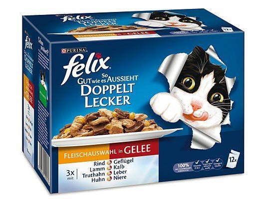 Katzenfutter von Felix zu gewinnen!