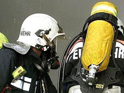 Die Feuerwehr rettete den Mieter in Döbling