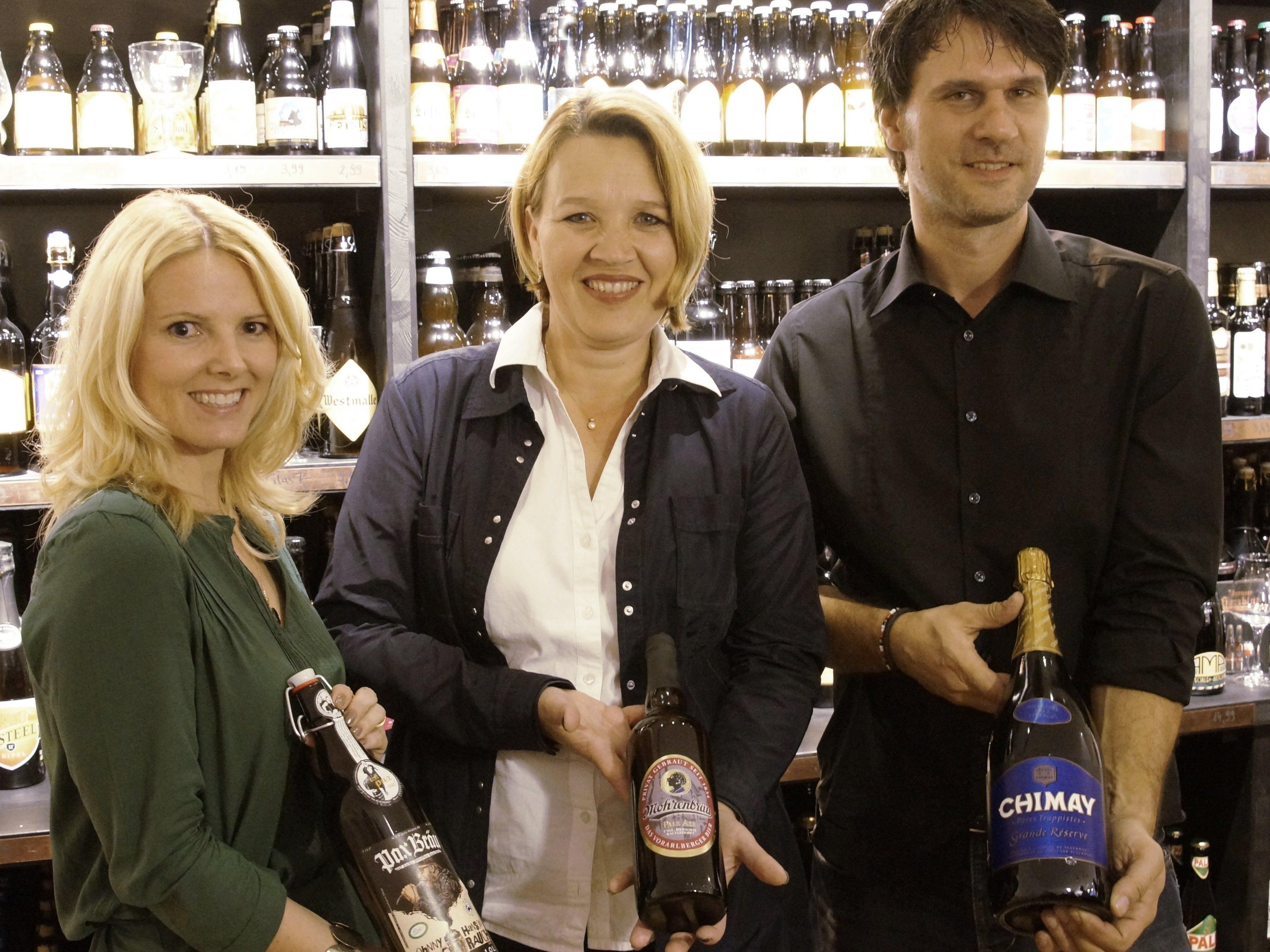 Am Samstag wird der erste Vorarlberger Biershop eröffnet.
