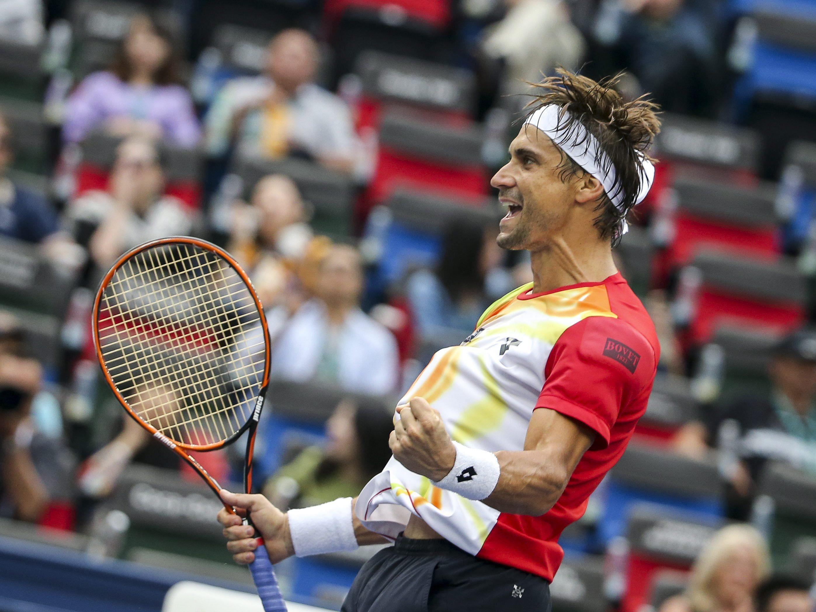 David Ferrer spielt beim Erste Bank Open in Wien auf.