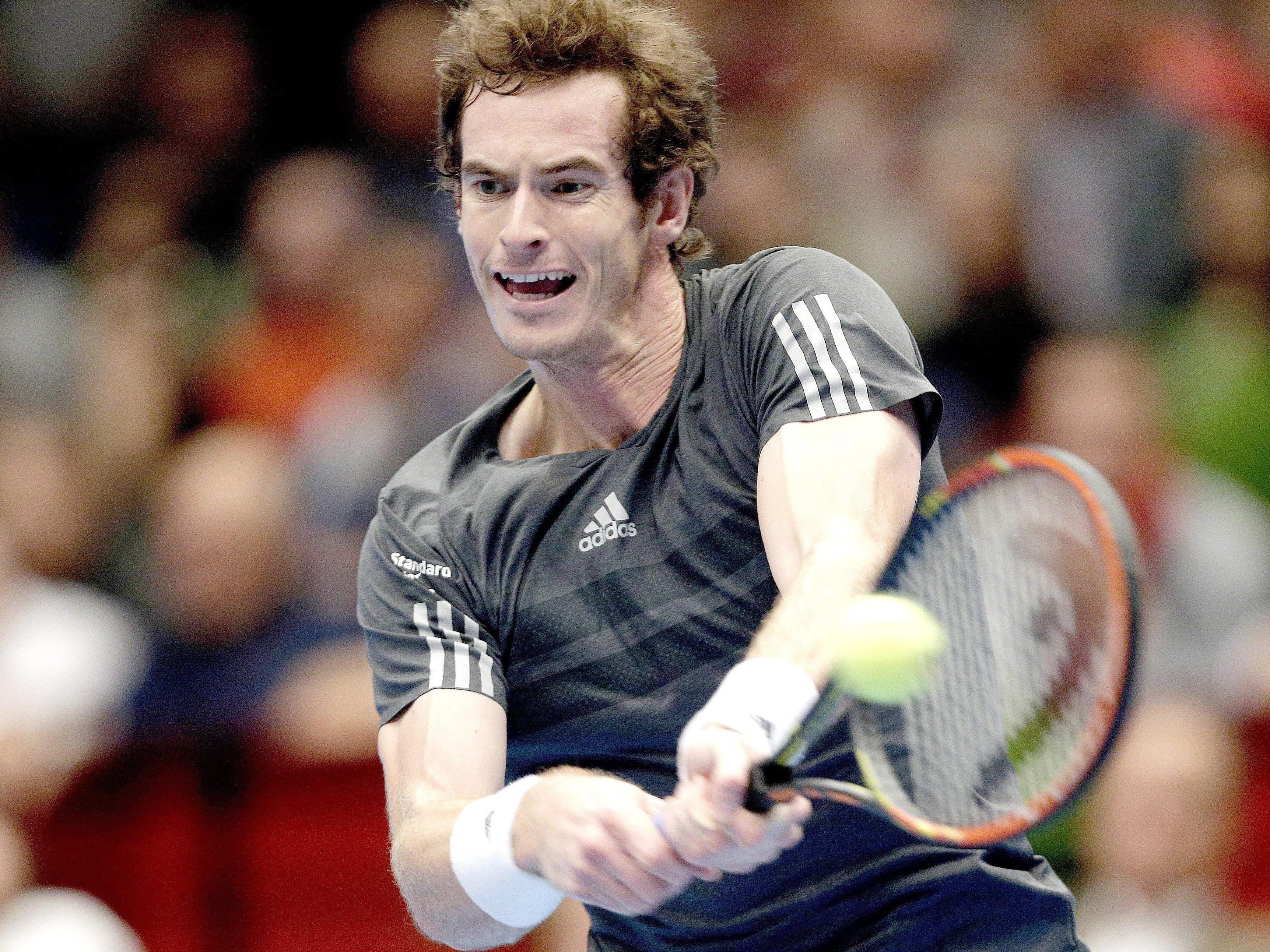 Andy Murray gewinnt das Erste Bank Open 2014.