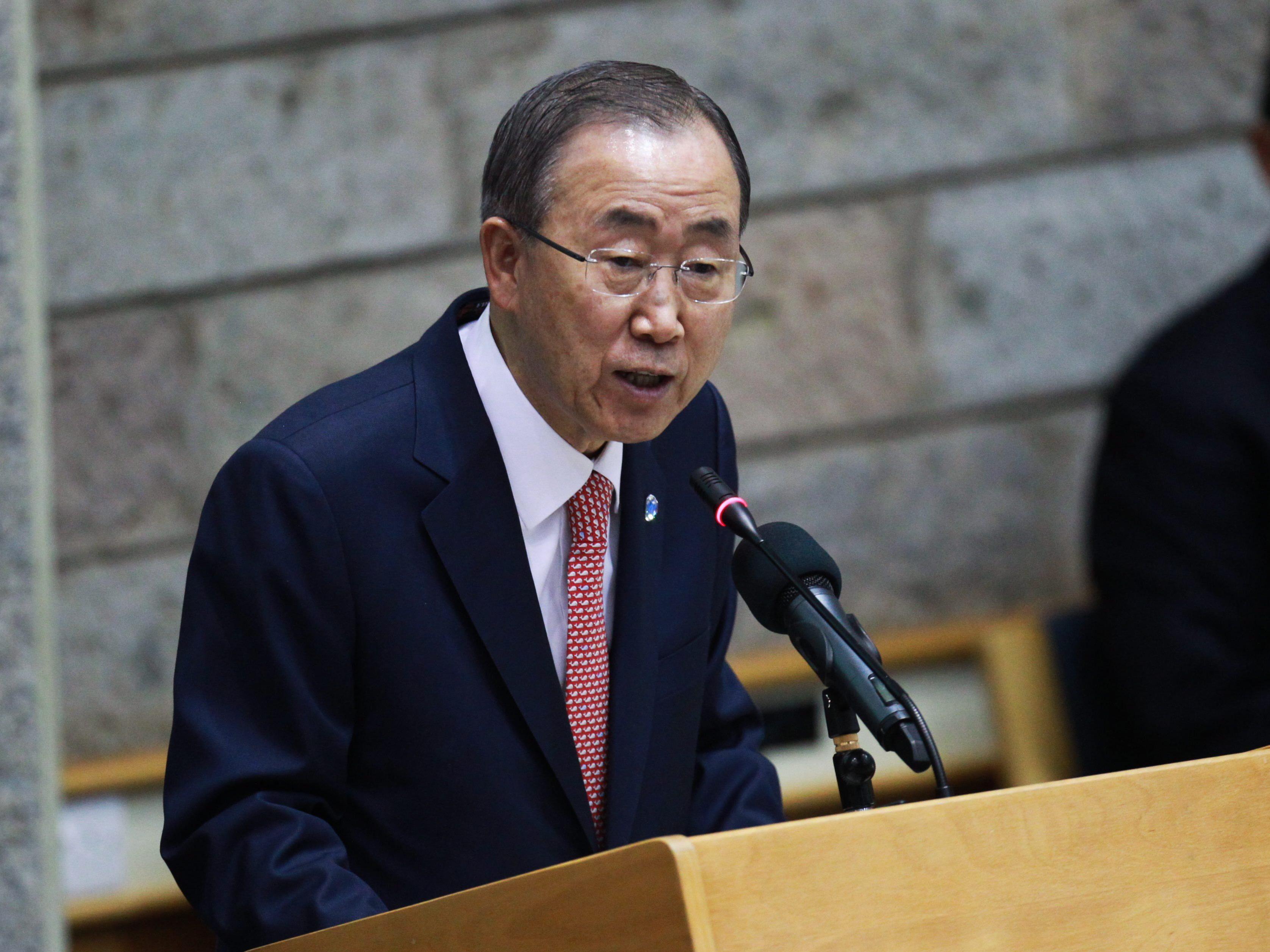 Ban nächste Woche bei UNO-Großkonferenz in Wien