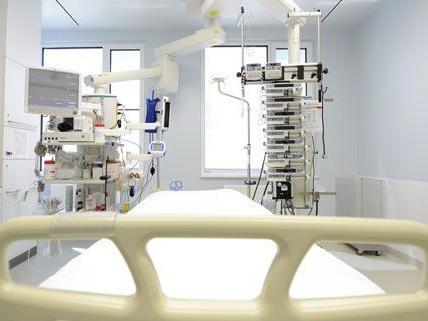 Im Kaiser-Franz-Josef-Spital in Wien-Favoriten ist die Frau in Behandlung
