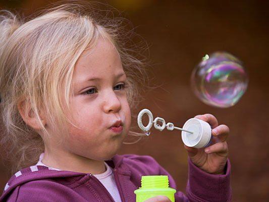Im Wiener Prater dreht sich alles um die Seifenblasen