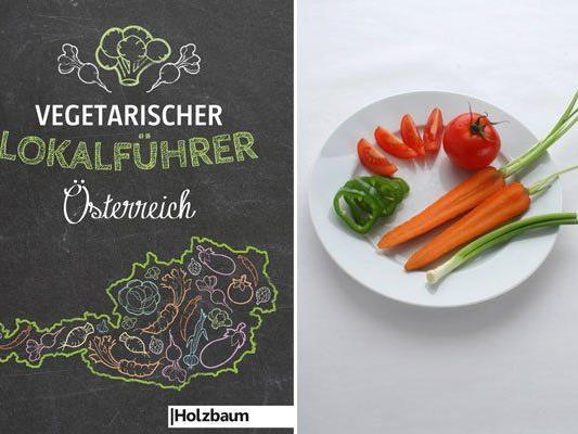 """Dass vegetarisches Essen auch schmecken kann, zeigt der """"Vegetarische Lokalführer Österreich"""""""