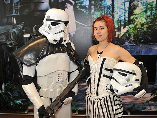 Star Wars Action mit Stormtroopers bei der Vienna Comix