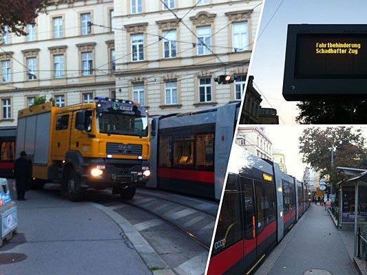 Im Bereich der Linien 40 und 41 kam es zu einer Straßenbahn-Störung