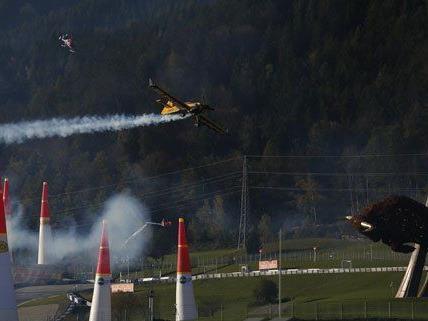 Am Wochenende wurde das Red Bull Air Race veranstaltet.
