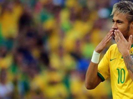 Neymar und seine Selecao treffen im November auf das österreichische Nationalteam.