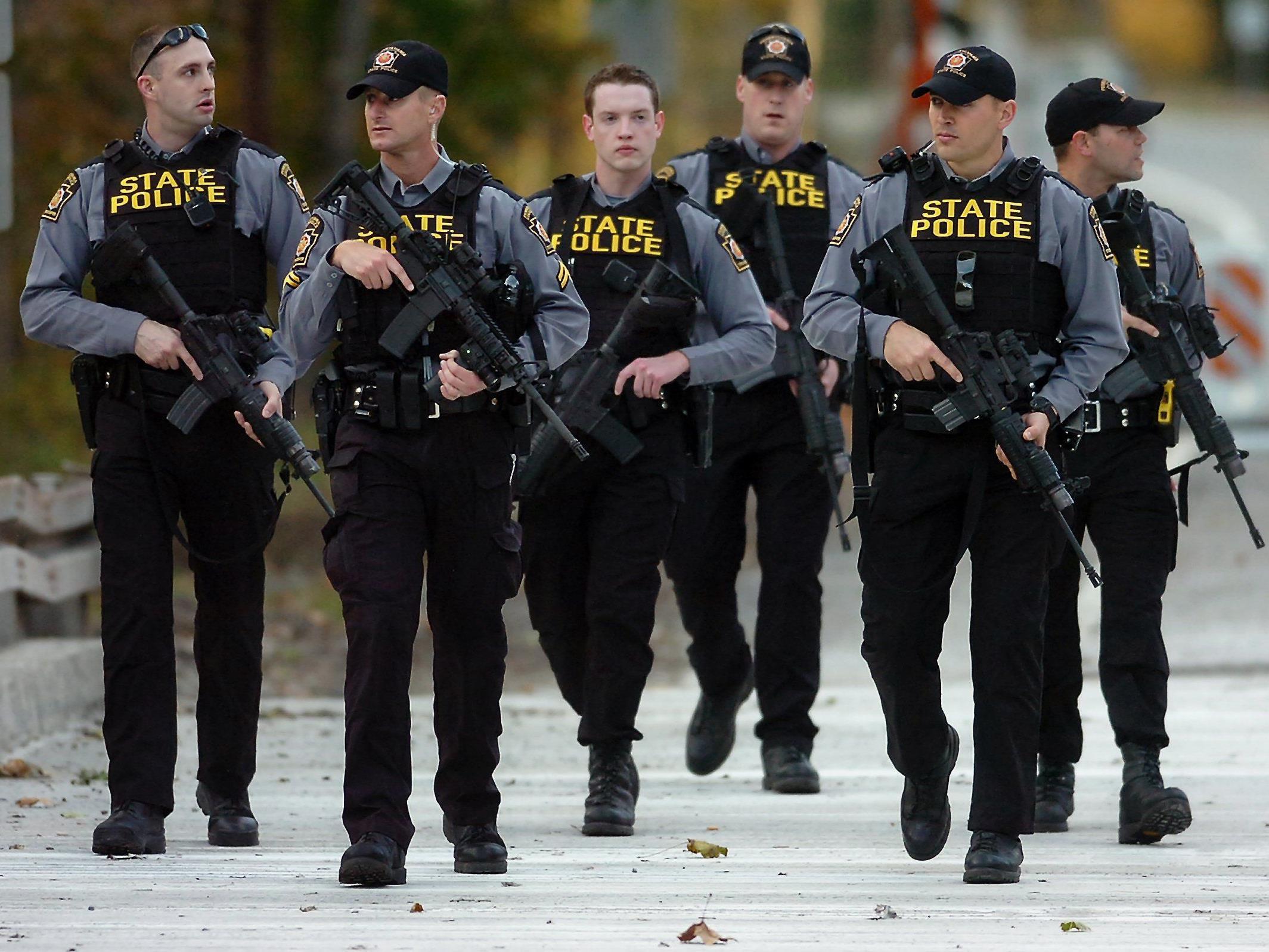 Die Polizei in Pennsylvania sucht immer noch nach dem Täter.