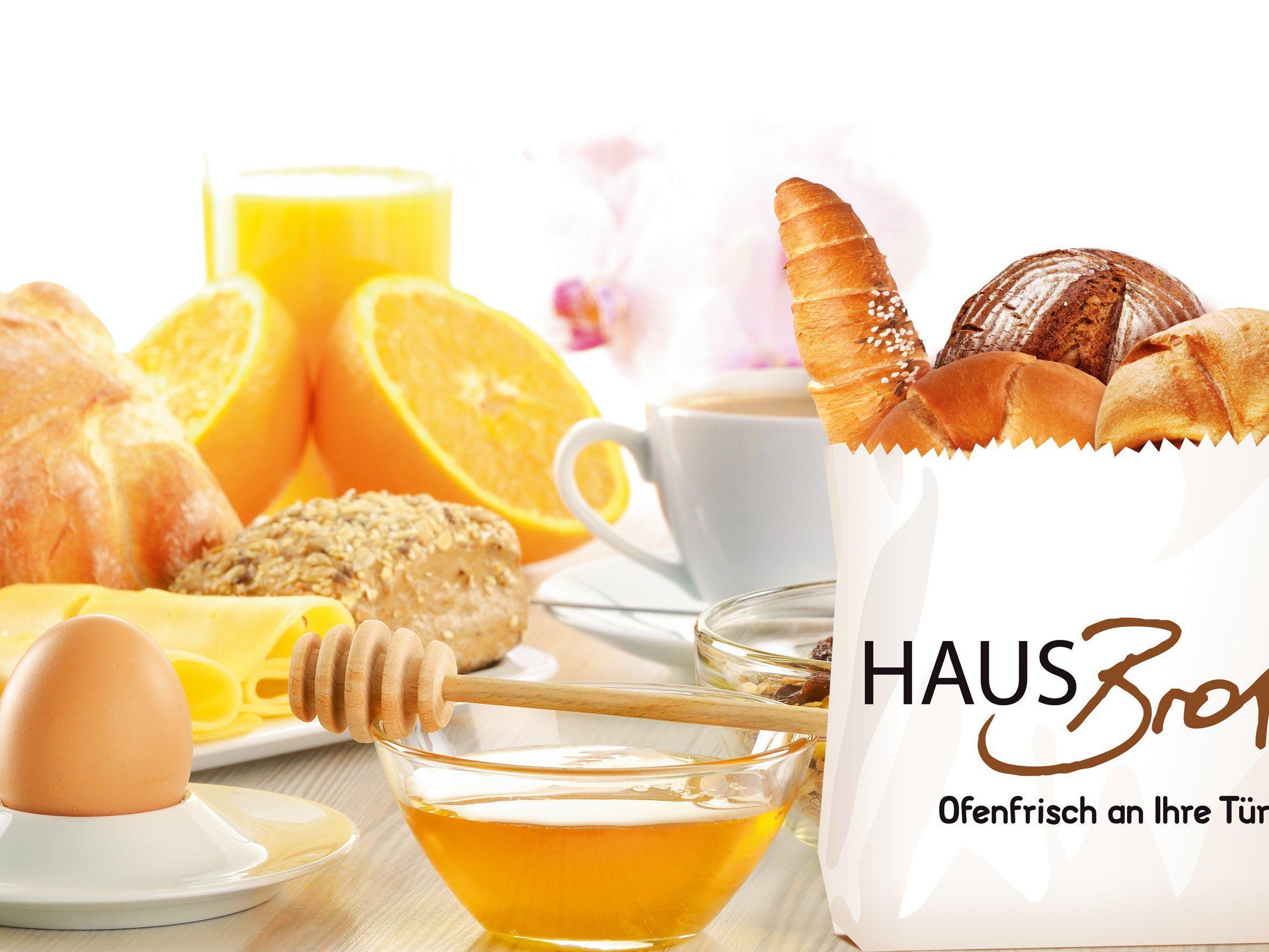 Mitmachen und das Frühstücksangebot von Hausbrot testen.