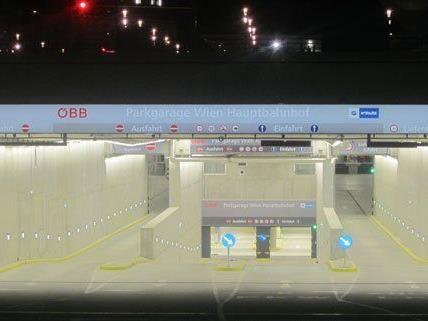 630 Parkplätze bietet die neue Parkgarage am Hauptbahnhof.